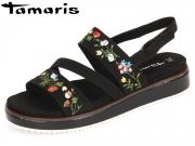 Tamaris 1-28153-38-001 black Textil