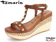 Tamaris 1-28322-28-305 cognac Leder