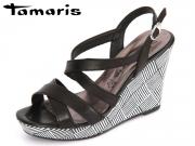 Tamaris 1-28343-28-003 black Leder