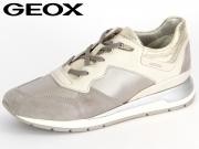 Geox Shahira D62N1B 0AK12-C0856 offwhite grey Vitello Raso