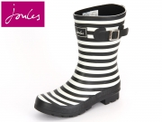 Tom Joule Molly Welly Molly Welly printed short black stripe Rubber