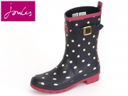 Tom Joule Molly Welly Molly Welly printed navy spot Rubber