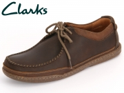 Clarks Trapell Pace 261149897 dark brown Leather