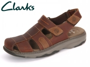 Clarks Raffe Bay 261150807 brown Leather
