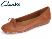 Clarks Freckle Ice 203529304 dark tan Leather