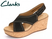 Clarks Aisley Tulip 261250804 black Nubuck
