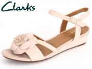 Clarks Parram Stella 261230354 dusty pink Nubuck