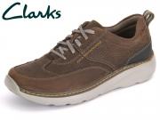 Clarks Charton Mix 261150017 dark brown Leather