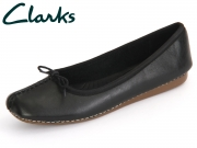 Clarks Freckle Ice 203529294 black Leather