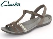 Clarks Tealite Grace 261238974 dark grey Nubuck