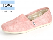 TOMS 10009706 coral washed Twill