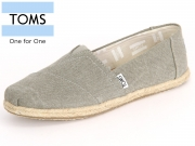 TOMS 10009754 drzl grey Washed Canvas