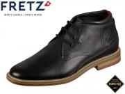 Fretz Men Andrew 6918.6871-51 noir Leder Gore Tex