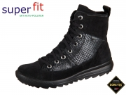 SuperFit Lina 1-00489-02 schwarz kombi Velour Effektleder Tex