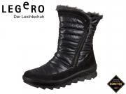 Legero NOVARA 1-00932-02 schwarz Velour Textile Gore