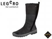 Legero Taro 1-00602-00 schwarz Nubuk-Velour