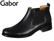 Gabor 71.640-27 schwarz Leder