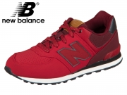 New Balance KL574YIG 581591-40-4 red black