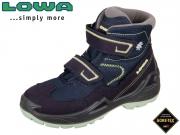 Lowa Milo GTX Hi 640542 6908 navy mint Leder-GTX