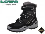 Lowa Milo GTX HI 640540 9923 schwarz-hellgrau Textil