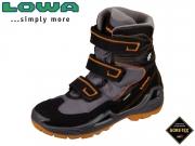 Lowa Milo GTX HI 640540 0920 schwarz orange Textil