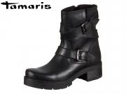 Tamaris 1-25490-29-001 black Leder Synthetik