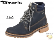 Tamaris 1-26244-29-827 navy Leather