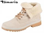 Tamaris 1-26254-29-460 cream Leather