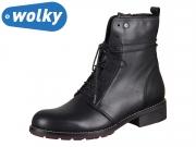 Wolky Murray 0443820000 black Velvet Leather