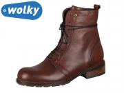 Wolky Murray 0443220430 cognac Velvet Leather