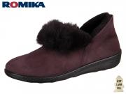 Romika Romilastic 102 66002-94-455 brombeer Nubukleder