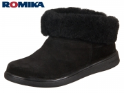 Romika Gomera 02 74602-28-100 schwarz Nubukleder