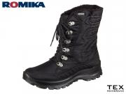 Romika Alaska 122 87022-PL76-100 schwarz Techno
