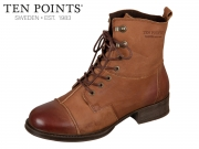 Ten Points Pandora 124011-302 lightbrown Leather