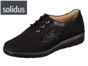 Solidus Kyra 30125 00539 schwarz Nubuk Glamour