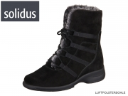 Solidus Mary 58155 00549 schwarz anthrazit Sportvelour Fell