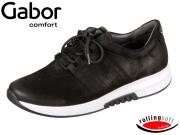 Gabor 76.946-47 schwarz Nubuk Oil