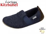 Living Kitzbühel 1446-590 nachtblau Wollfilz