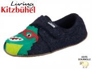 Living Kitzbühel 3244-590 nachtblau Wollfilz