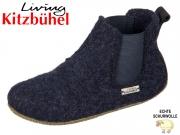 Living Kitzbühel 3064-590 nachtblau Wollfilz