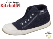 Living Kitzbühel 2238-590 nachtblau Wollfilz