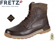 Fretz Men 1348.6971-59 mokka Fettnubuk Gore Tex