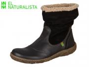 El Naturalista Nido N758 black Soft Grain Lux Suede