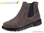 Waldläufer Hydeia 919803-130007 asphalt Velour