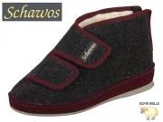 Schawos 2062-24V anthrazit- bordeaux