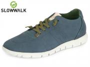 Slowwalk Morvi 10360 na navy Nobuck Leather
