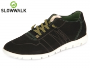 Slowwalk Morvi 10360 bl black Nobuck Leather