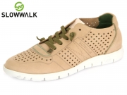 Slowwalk Morvi-W 10360W sa sand Nobuck Leather