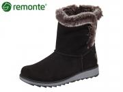 Remonte D8873-02 schwarz Talamon