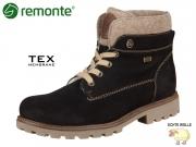 Remonte D7476-02 schwarz Talamon